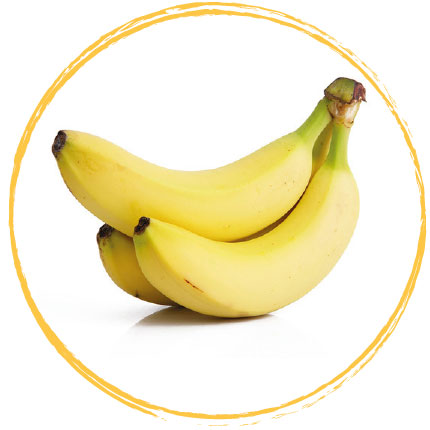 Banane (rondelle) surgelée