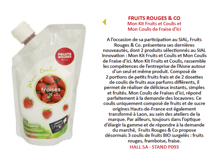 FRUITS ROUGES & Co - Savours and co