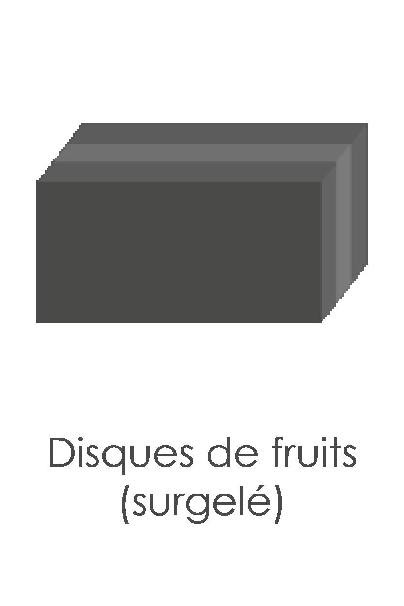 Pomme (garniture) surgelée