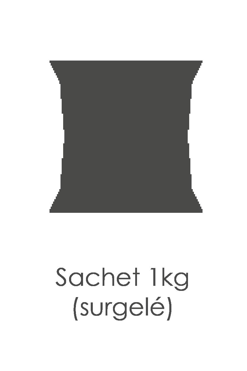 Abricot (oreillon) surgelé