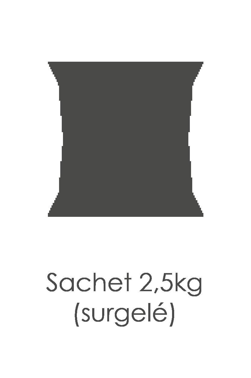 Framboise (brisure) surgelée